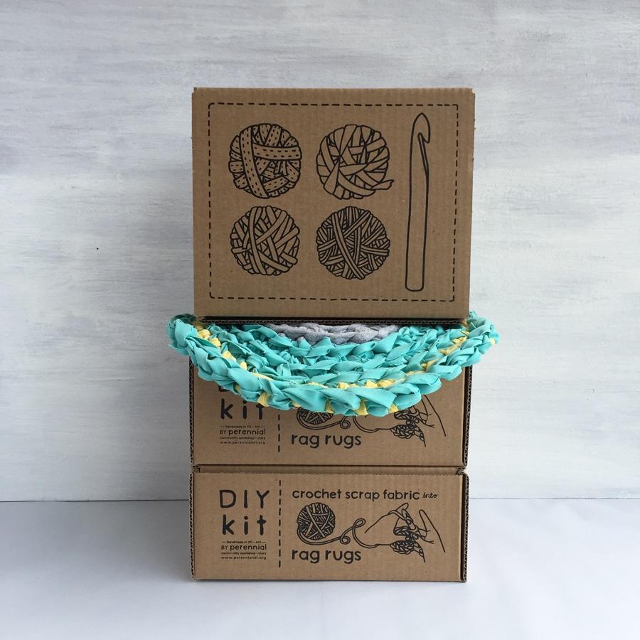 Rag Rug Kit Perennial