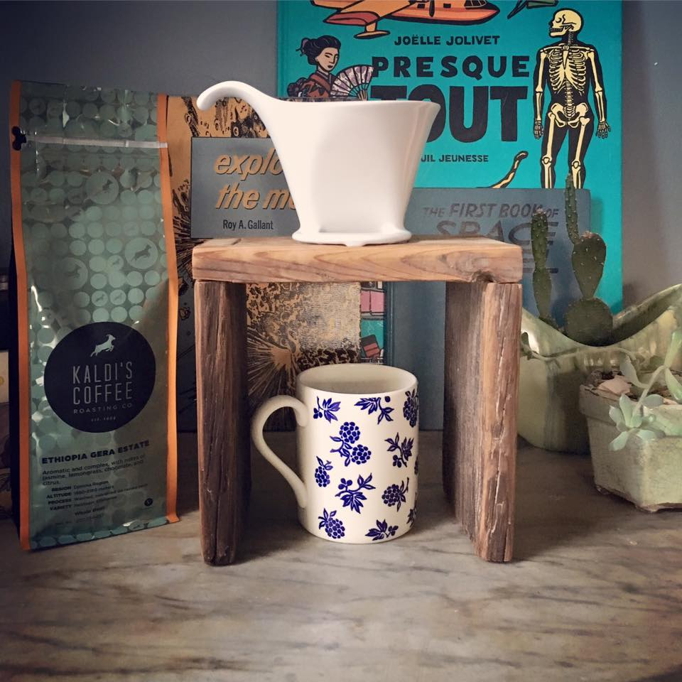 ccd104636de Intro. to Woodworking  Pour-Over Coffee Stand - perennial