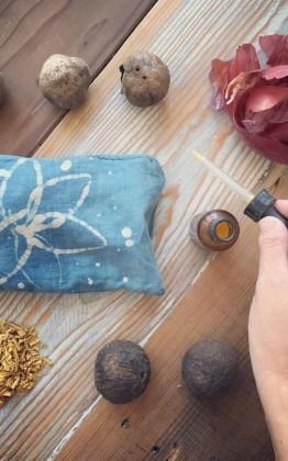 botanical dyes and batik resists