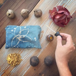 botanical dyes and batik resists