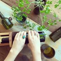 wine bottle reuse