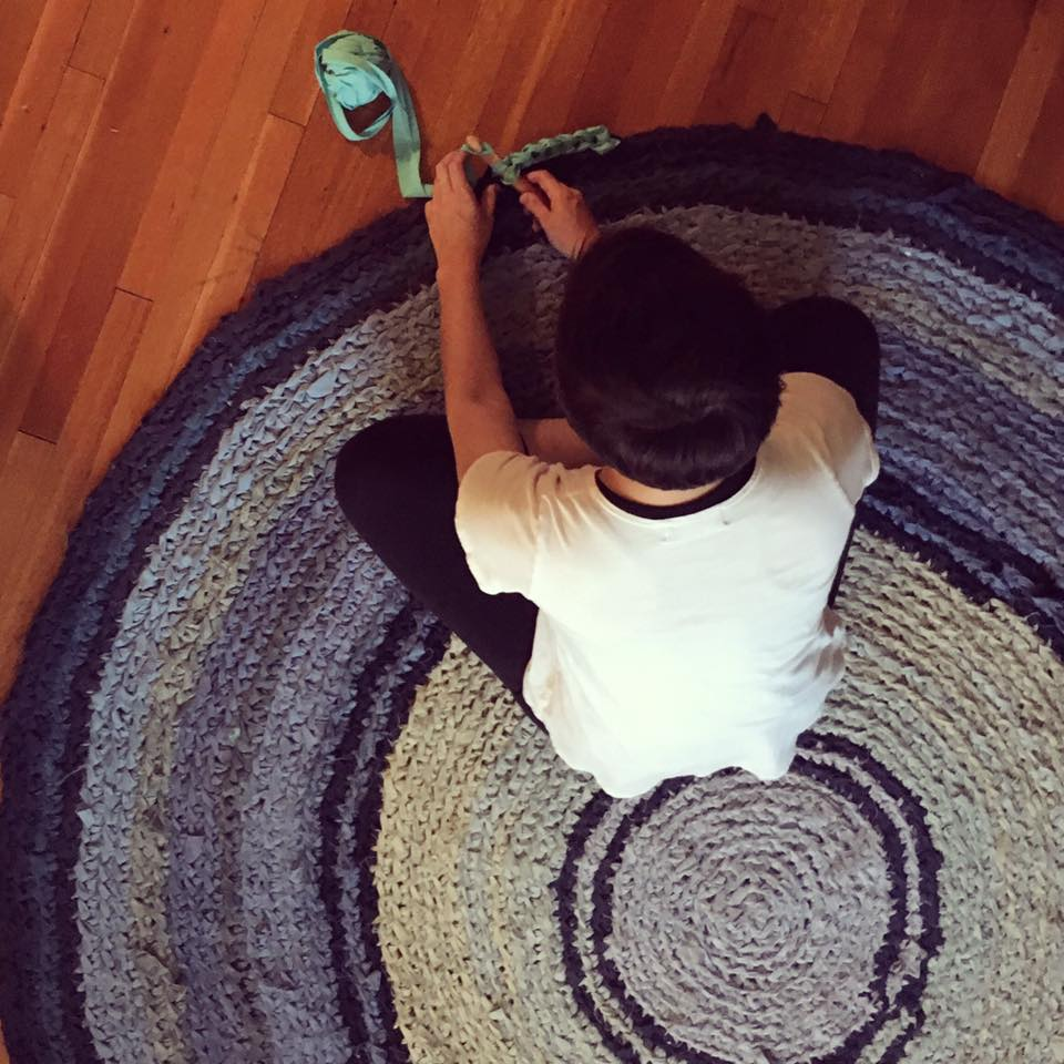 crochet rag rug class