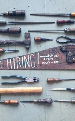 wood shop tech