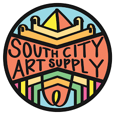 south city art supply logo