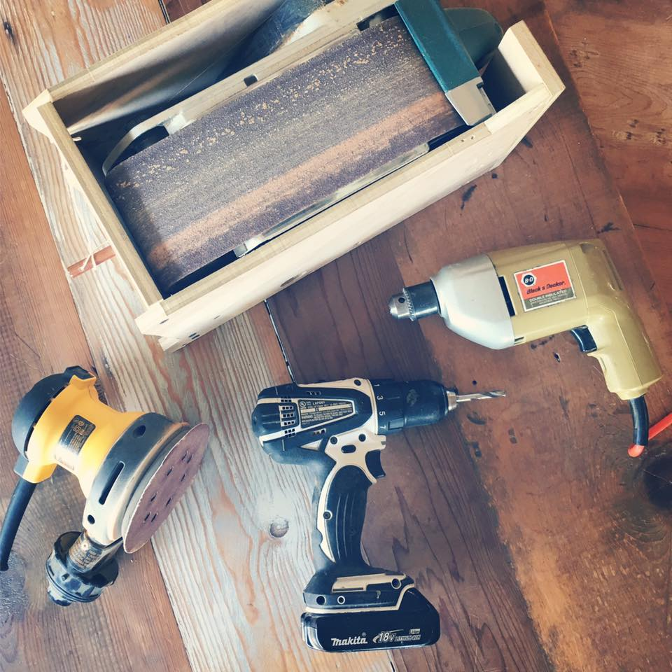 tools 101: drills sander planer