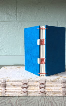 french tape bookbinding