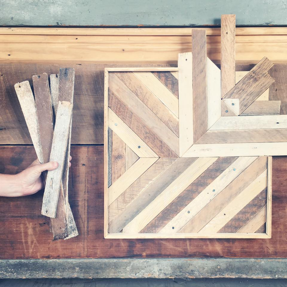 Beautiful Reclaimed Wood Wall Art