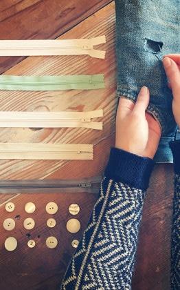 Hand Sewing Mending