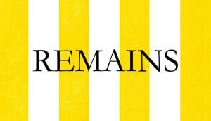 Remains Logo