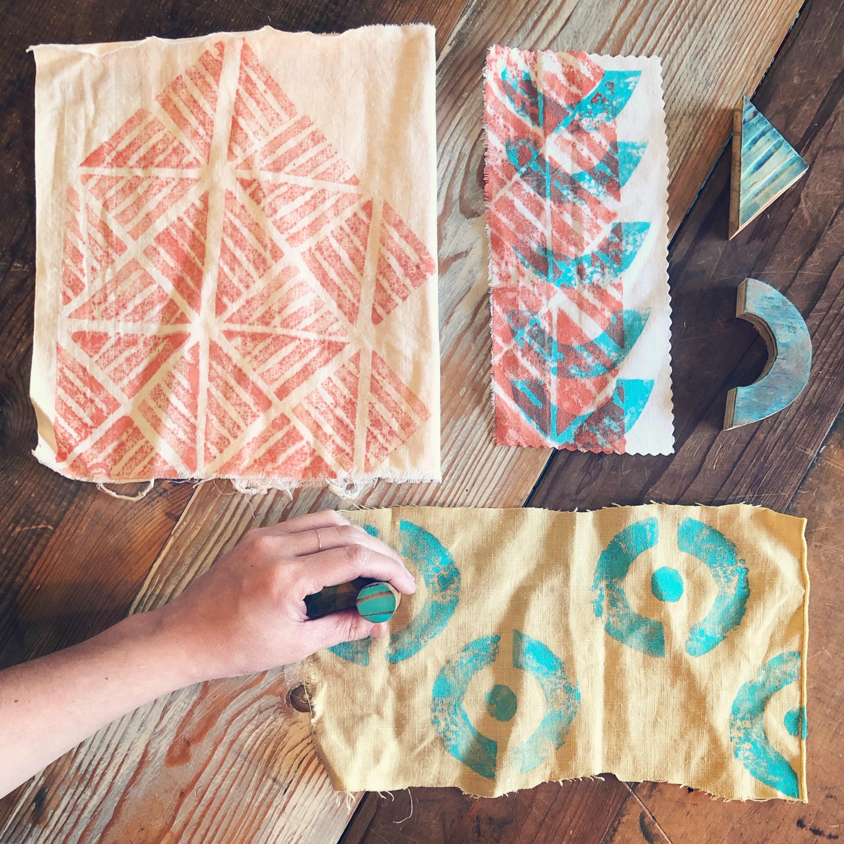 Block Printing On Fabric Perennial